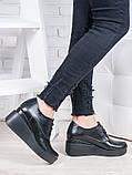 Туфли черные на платформе 6867-28, фото 2
