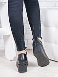 Туфли черные на платформе 6867-28, фото 4