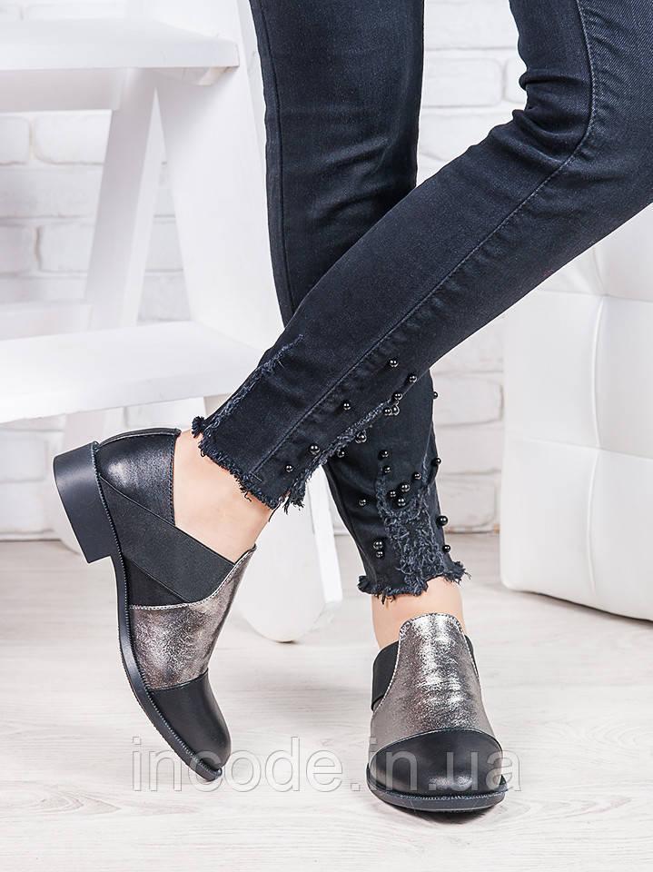 Туфли кожаные Фредерика 6868-28