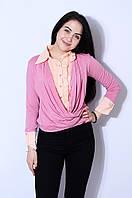 Блуза Abc 2856 L Пудра - 157364
