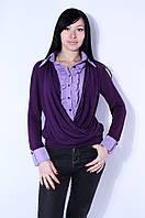 Блуза Abc 2856 L Фиолетовый - 157379