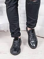 Мужские кожаные кеды 6885-28, фото 1