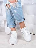Кеди білі шкіряні Аріана 6913-28, фото 2