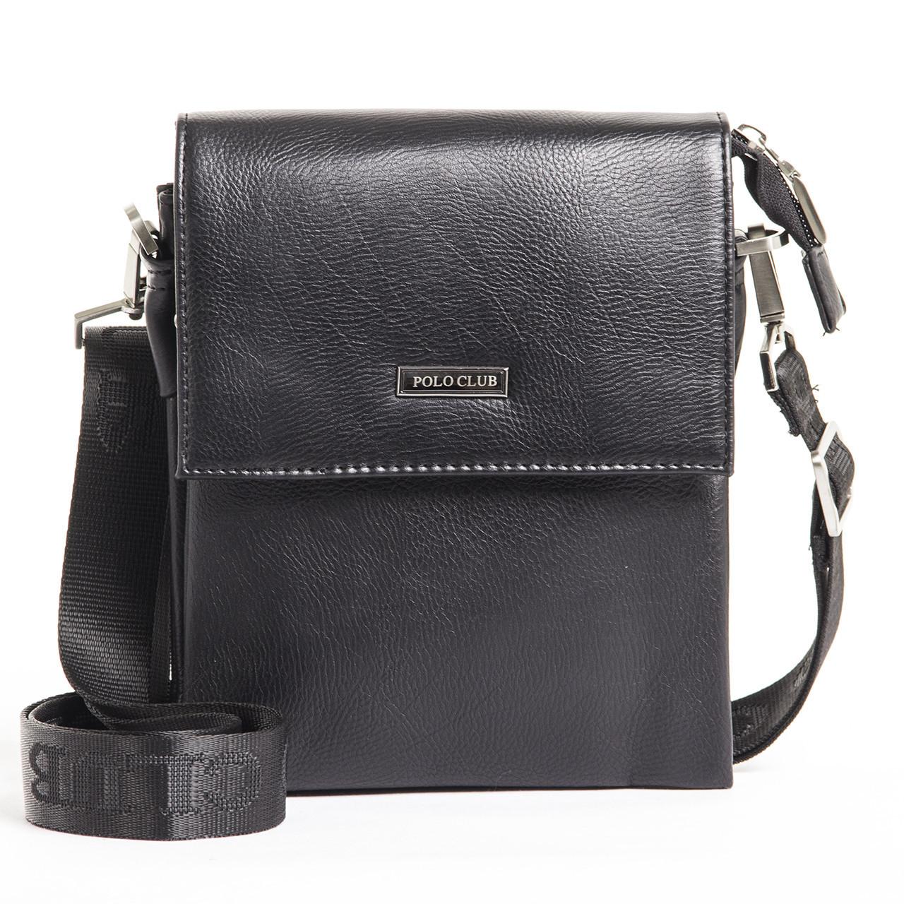 Мужская сумка POLO CLUB Черный (кс023-3ч)