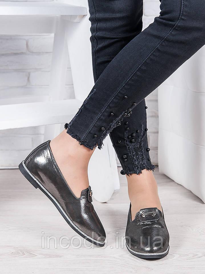 Туфли сатин кожа Лори 6963-28