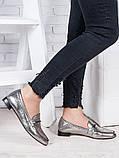 Туфли кожаные сатин Пегги 6966-28, фото 3