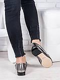 Туфли кожаные сатин Пегги 6966-28, фото 4