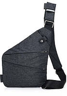Мужская сумка Cross Body Темно-серая (R0034), фото 1