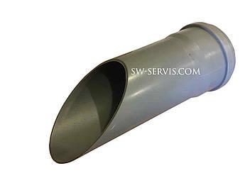 Труба канализационная пвх 110*1000 мм delta