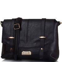 Женская сумка из качественного кожзаменителя ETERNO Черная (ETK0109-2), фото 1