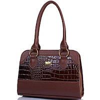 Женская сумка из качественного кожзаменителя ETERNO Коричневая (ETMS35319-10), фото 1