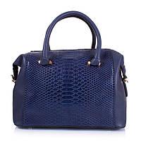 Женская сумка из качественного кожезаменителя AMELIE GALANTI Синяя (A981067-1-blue), фото 1