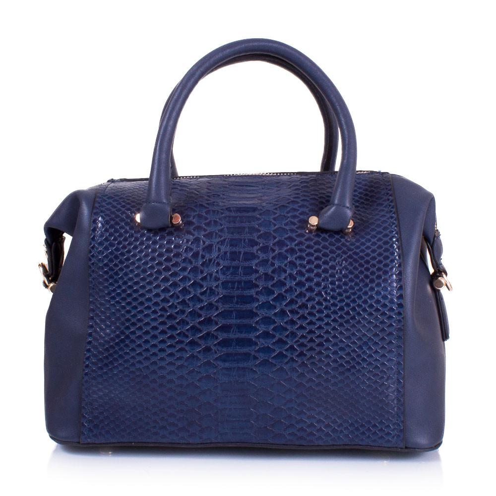 Женская сумка из качественного кожезаменителя AMELIE GALANTI Синяя (A981067-1-blue)