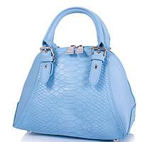 Женская сумка из качественного кожезаменителя AMELIE GALANTI Голубая (A1411046-blue), фото 1