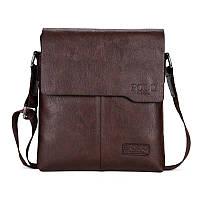Мужская сумка мессенджер Polo Vicuna Коричневый (88112), фото 1