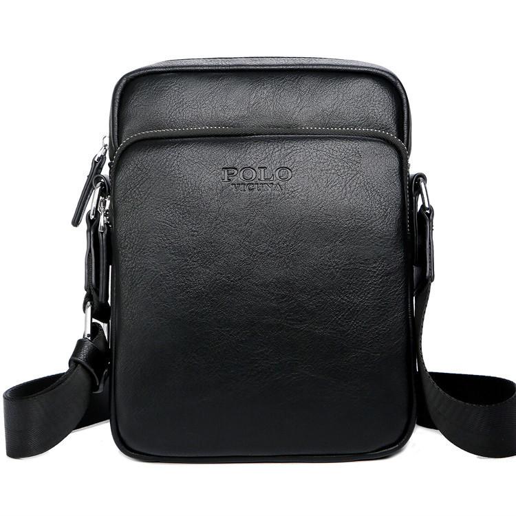 Мужская сумка POLO Vicuna Черный (KD-8850-BL)