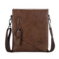 Мужская сумка POLO Vicuna Bag Коричневый (KD-60725), фото 1