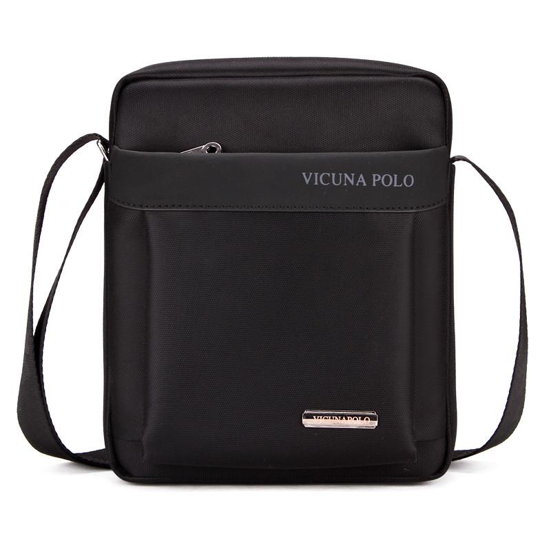 Мужская сумка POLO Vicuna Bag Черный (KD-67321)