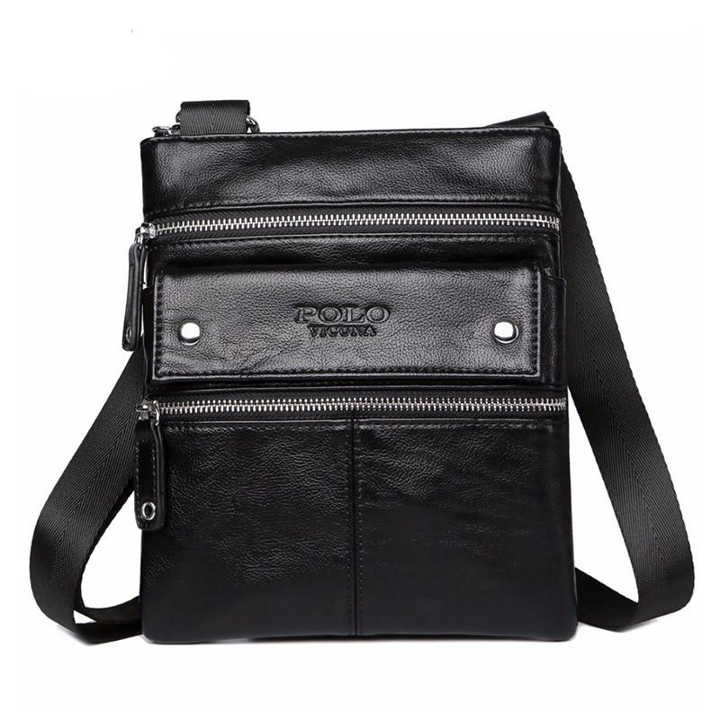 Мужская сумка POLO Vicuna Черный (KD-52410)