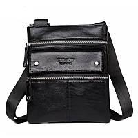 Мужская сумка POLO Vicuna Черный (KD-52410), фото 1
