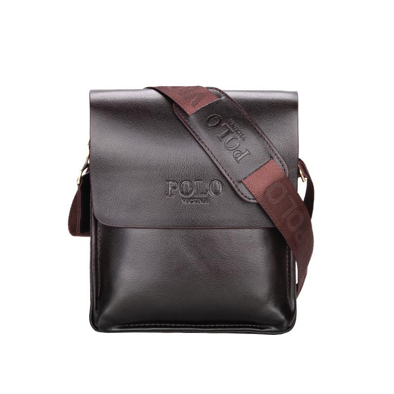 Мужская сумка POLO Vicuna Коричневый (KD-62039)