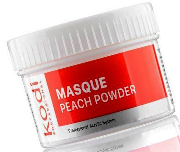 Матирующая акриловая пудра Персик Kodi Professional Masque Peach+Powder 60 г