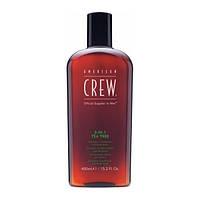 Средство по уходу за волосами и телом 3-в-1 American Crew Classic Tea Tree 450 мл