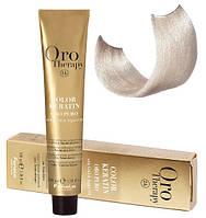 Безаммиачная крем-краска для волос Fanola Oro Therapy Extra №10/0 Blonde platinum extra 100 мл