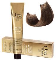 Безаммиачная крем-краска для волос Fanola Oro Therapy №8/00 100 мл