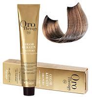 Безаммиачная крем-краска для волос Fanola Oro Therapy №8/21 Light blonde violet ash  100 мл