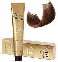 Безаммиачная крем-краска для волос Fanola Oro Therapy №8/3 Light Blonde Golden 100 мл