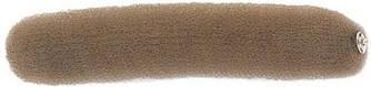 Валик для прически Sibel коричневый 23 см