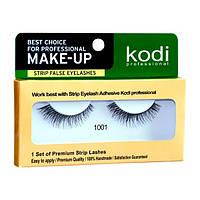 Накладные ленточные ресницы Kodi Professional №1001