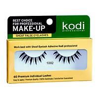 Накладные ленточные ресницы Kodi Professional №1002