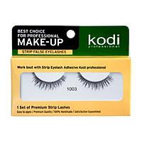 Накладные ленточные ресницы Kodi Professional №1003