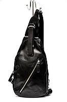 Мужская сумка Polo Vicuna через плечо Черный (99471), фото 1