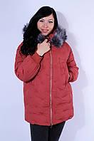 Куртка Xuesnah 1830 2XL Терракота - 157614