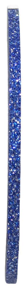 Голографическая полоска для ногтей 2мм (синяя с блестками)