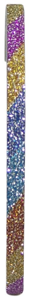 Голографическая полоска для ногтей 3мм (цветная с блестками) А429