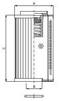 Фильтроэлемент CRE 015, Фильтр TLM 019, Sofima