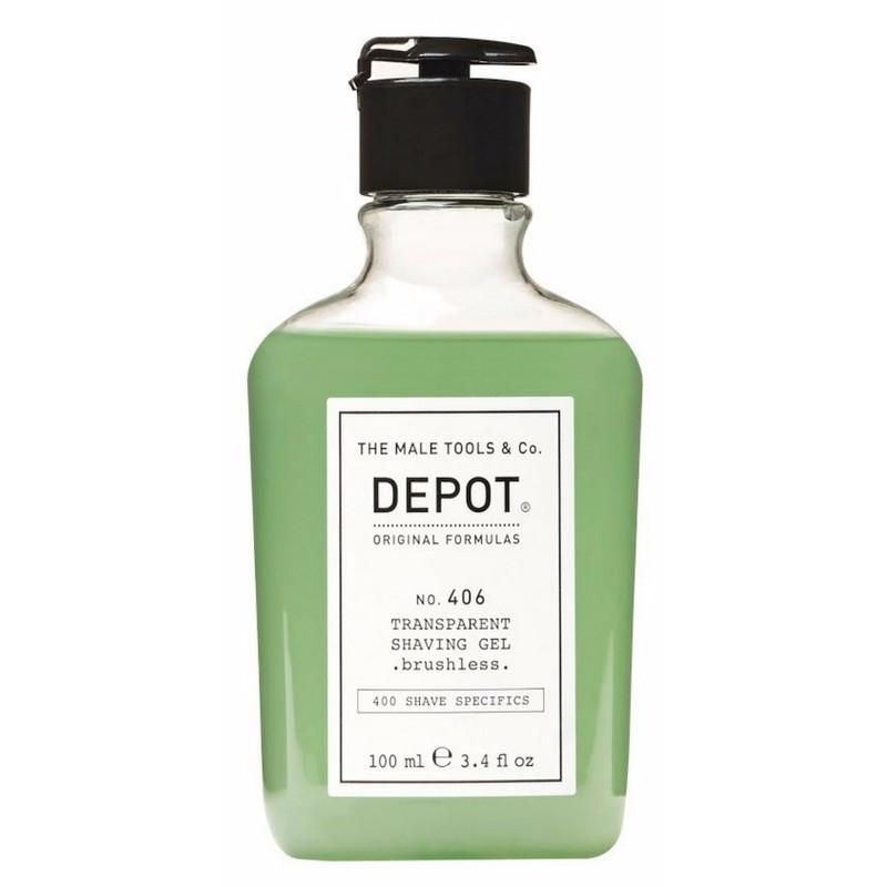 Прозрачный гель для бритья Depot №406 10 мл