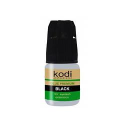 Клей для наращивания ресниц Kodi Professional Premium Black 3 г