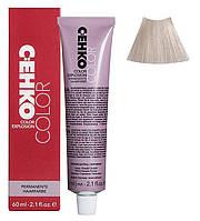 Крем-краска для волос C:EHKO Color Explosion  №12/20 Ультра-светлый пепельный блонд 60 мл