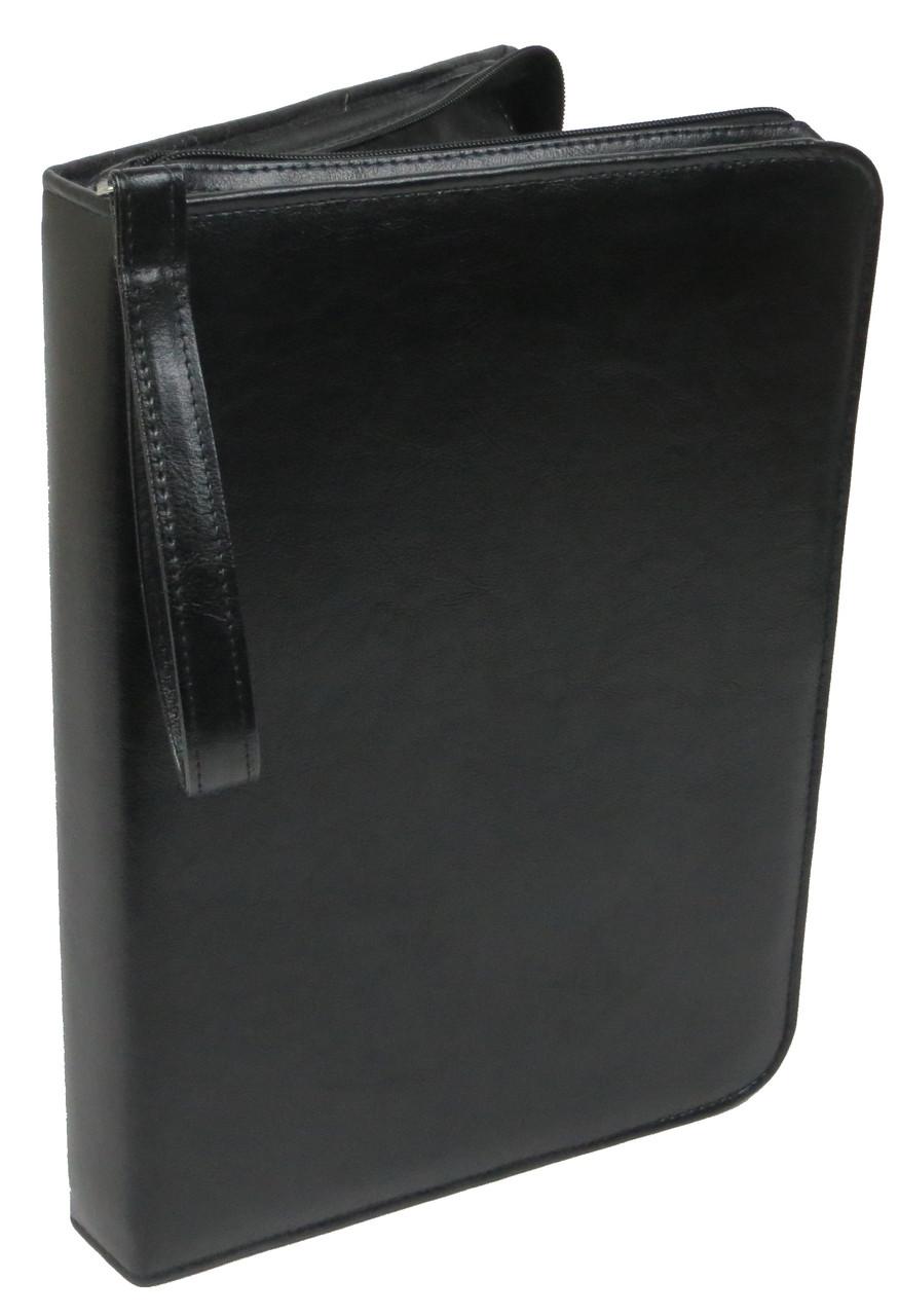 Папка  деловая из искусственной кожи Exclusive Черный (710900)