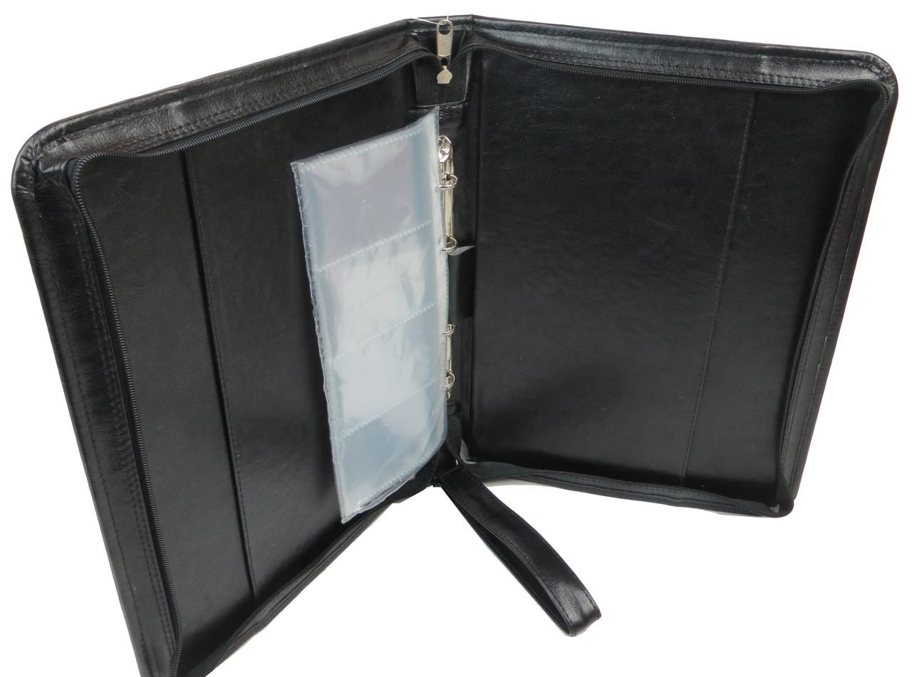 Папка из искусственной кожи Exclusive Черный (712100)