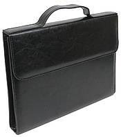Папка деловая из искусственной кожи Exclusive Черный (711300), фото 1