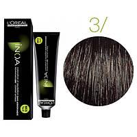 Крем-краска для волос L'Oreal Professionnel INOA Mix 1+1 №3 Сastano 60 мл