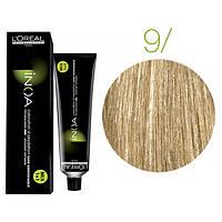 Крем-краска для волос L'Oreal Professionnel INOA Mix 1+1 №9 Очень светлый блонд 60 мл