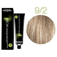 Крем-краска для волос L'Oreal Professionnel INOA Mix 1+1 №9/2 Очень светлый блонд 60 мл