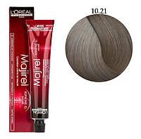 Крем-краска для волос L'Oreal Professionnel Majirel №10/21 Очень-очень светлый блондин пепельный радужный 50 мл